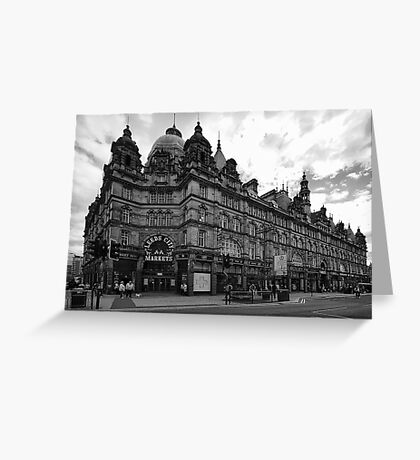 Leeds City Markets Greeting Card