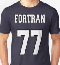 FORTRAN 77 - White on Green Design for Fortran Programmers T-Shirt