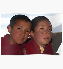 Young Monks from Ladakh Poster