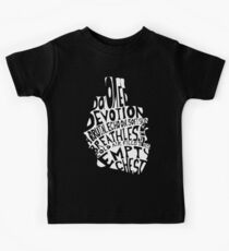 empty chest : anatomical heart  Kids Tee
