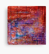 Vector Field Canvas Print
