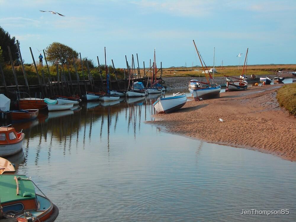 Riverboat Scene by JenThompson85