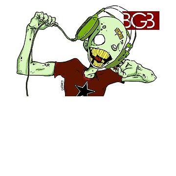 Zombie Gotta Rock by billgaffney