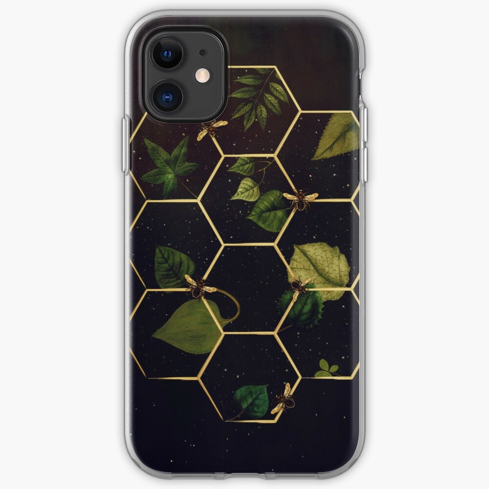 Bees in Space iPhone Case & Cover