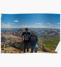 Mt. Sneffels - 14,150 ft. Poster