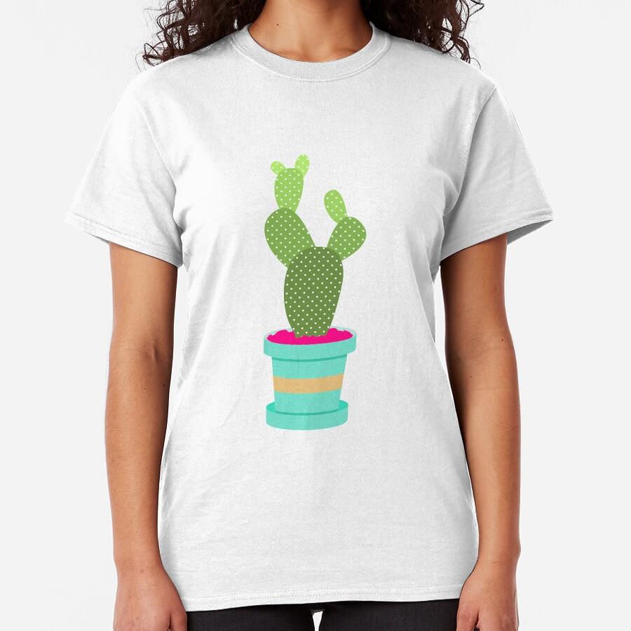 Friendly Cactus Classic T-Shirt