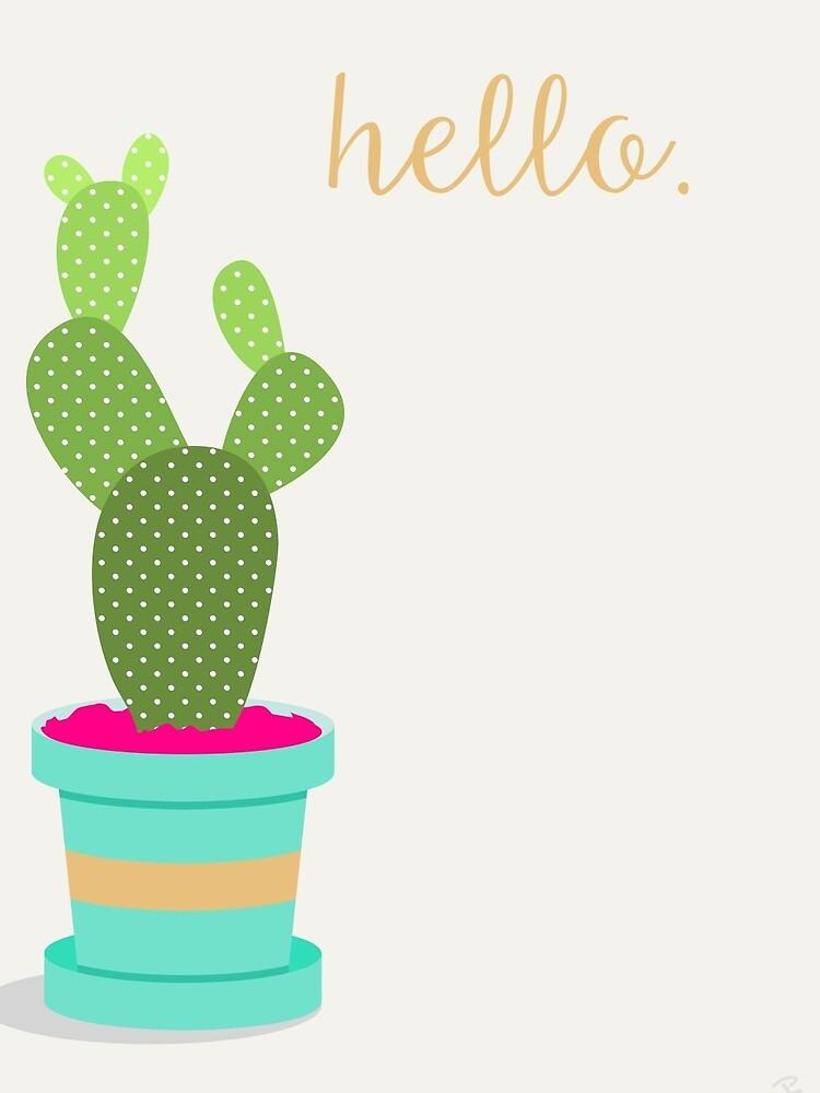 Friendly Cactus by jbott