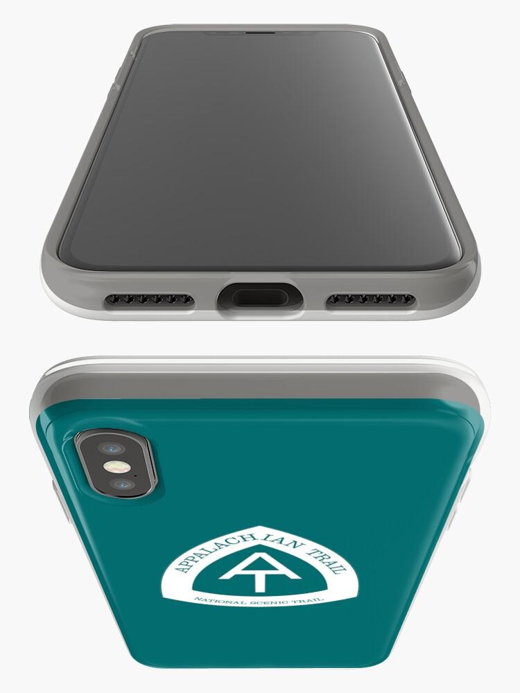 Alternative Ansicht von Appalachisches nationales szenisches Hinterzeichen iPhone-Hülle & Cover