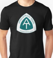 Appalachian National Scenic Trail Sign T-Shirt