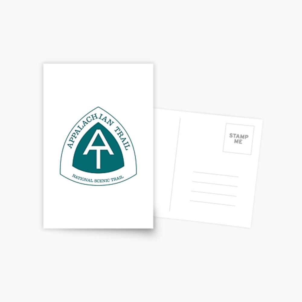 Appalachisches nationales szenisches Hinterzeichen Postkarte