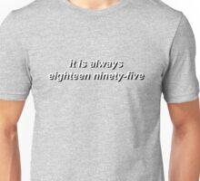 221B by Vincent Starett (short) Unisex T-Shirt