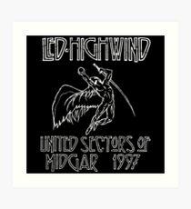 Led Highwind Art Print