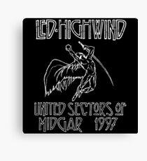 Led Highwind Canvas Print