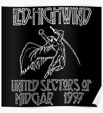 Led Highwind Poster