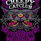 Creepy Cat Club by cryface