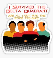 Voyages in the Delta Quadrant Sticker