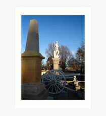 Cenotaph at Ross Art Print