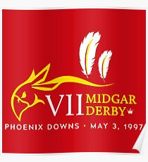 Midgar Derby Poster