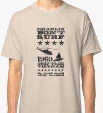 Surf team vietnam - Charlie don't surf - Black Classic T-Shirt