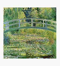 Claude Monet - Water-Lily Pond Photographic Print