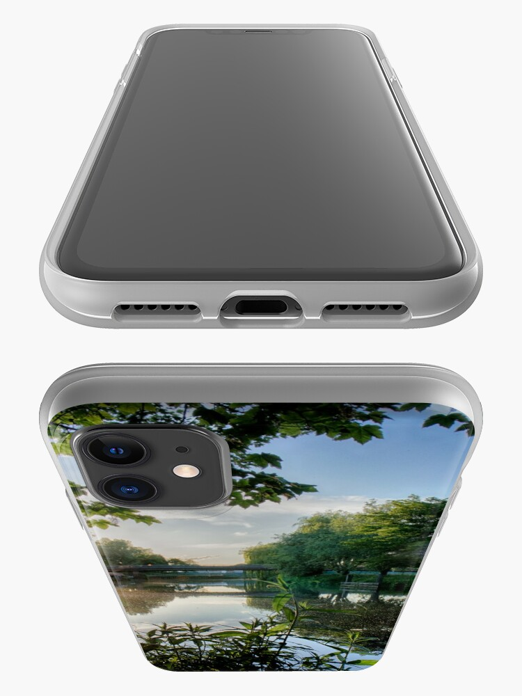 Alternate view of  River Reflected Rays iPhone Case & Cover