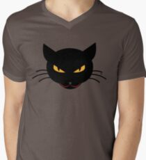 Evil Kitty Men's V-Neck T-Shirt