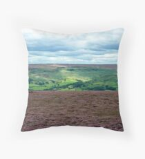 The North Yorks Moors Throw Pillow