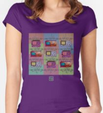 """""""Test Measure Oscillate""""© Women's Fitted Scoop T-Shirt"""