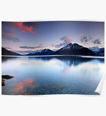 Lake Wakatipu Sunset Poster