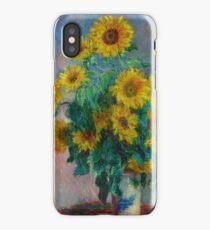 Claude Monet - Bouquet of Sunflowers iPhone Case