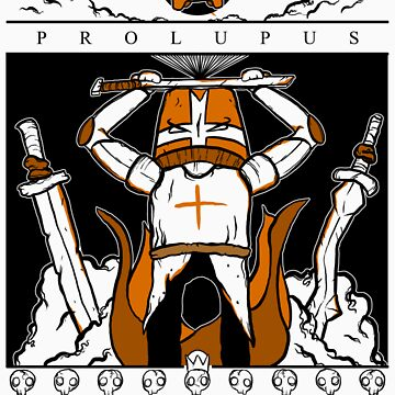 Castle Crashers - Heraldry of the Orange Knight by KNIGHTMARE