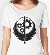 Brotherhood Logo Black Women's Relaxed Fit T-Shirt