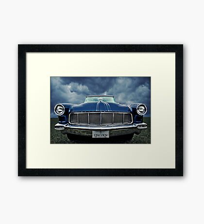 """""""The Continental"""" Framed Print"""