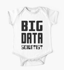 BIG DATA SCIENTIST - Self-ironic Design for Data Scientists Kids Clothes