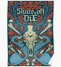 Skate or Die Poster