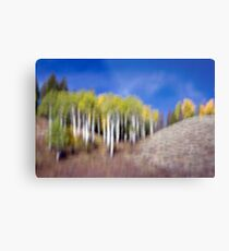 Shapes & Colors of Fall Metal Print