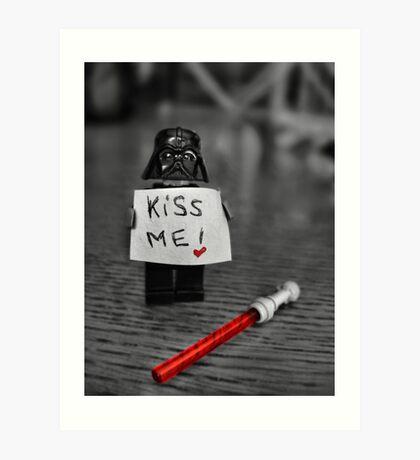 Kiss Me! Art Print