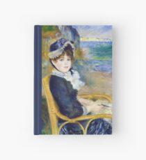 Pierre-Auguste Renoir - By the Seashore Hardcover Journal