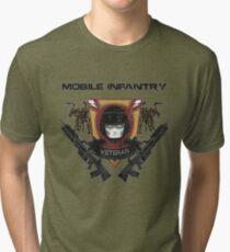 Veteran's Badge- Starship Troopers Tri-blend T-Shirt