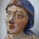 ancient religious statue. by Lee d'Entremont