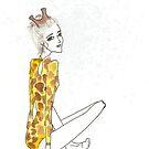 Seeing Spots: Giraffe by alexanicole