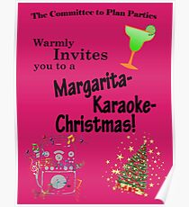 Office Christmas Party Posters Redbubble