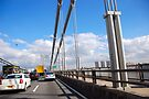 UFO & GW Bridge by John Schneider