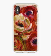Pierre-Auguste Renoir - Anemonen iPhone-Hülle & Cover
