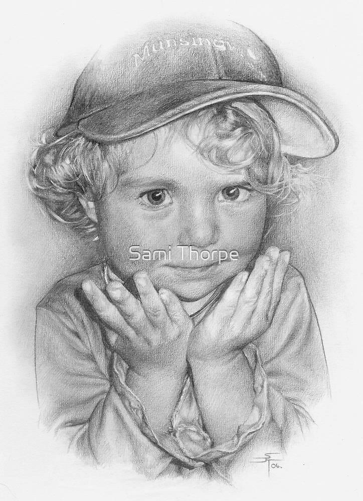 Portrait Commission (Mollie) by Sami Thorpe