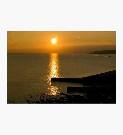 Splash Point Sunset Photographic Print