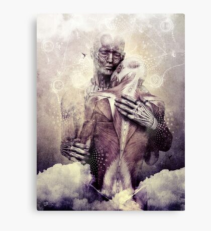 If Only The Sky Would Disappear Canvas Print