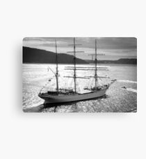 Sailing Light Canvas Print