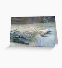 The Komodo Dragon Greeting Card