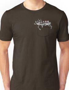 Pocket messengers from Bloodborne  Unisex T-Shirt